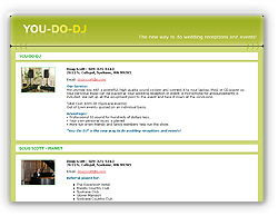 You-DO-DJ, The new way to do wedding receiptions and events